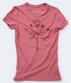 Aeropostale Aero Rose Graphic Tee