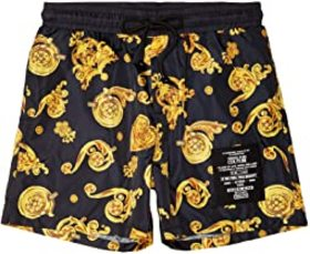 Versace Jeans Couture Jewel Baroque Print Shorts