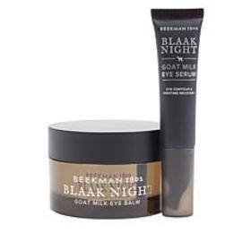 Beekman 1802 Goat Milk Blaak Night Eye Care Set