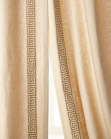 Eastern Accents Folly Curtain Right Panel  48W x 1