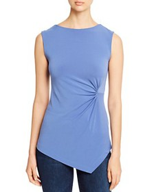 T Tahari - Sleeveless Ruched Top