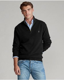 Ralph Lauren Wool-Blend Quarter-Zip Sweater
