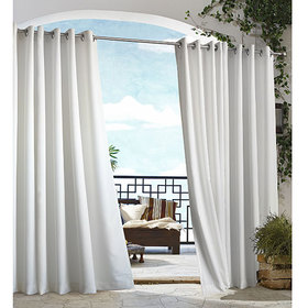 Gazebo Indoor/Outdoor Curtain Panel - White