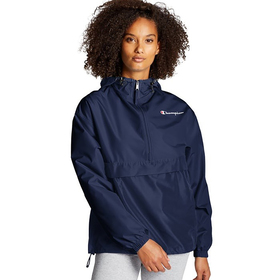 Womens Champion Solid Packable Jacket