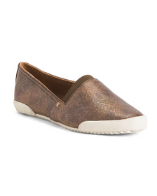 FRYE Leather Slip On Loafers