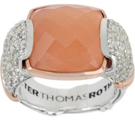 """As Is"" Peter Thomas Roth Sterling & 18K Clad Gems"