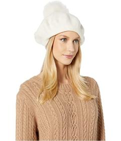 UGG Cozy Knit Beret with Pom