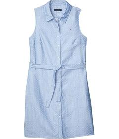 Tommy Hilfiger Small Dot Cotton Shirtdress