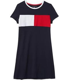 Tommy Hilfiger Flag Crew T-Shirt Dress