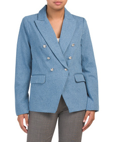 500 Contemporary Fit Double Breasted Blazer