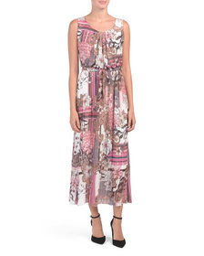 MODISSIMA Made In Italy Patchwork Paisley Maxi Dre