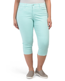 NYDJ Plus Capris With Released Hem