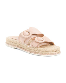 MATISSE Suede Double Band Espadrilles