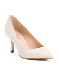 NAPOLEONI Made In Italy Patent Leather Mid Heel Pu