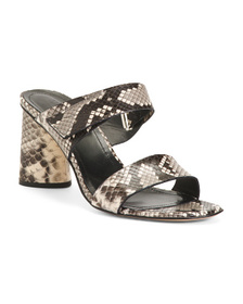 NAPOLEONI Made In Italy Leather Sandals