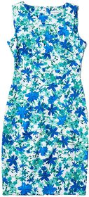 Calvin Klein Floral Print Starburst Sheath Dress