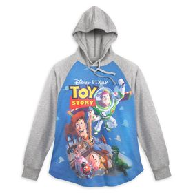 Disney Toy Story VHS Case Long Sleeve Hooded T-Shi