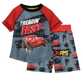 Disney Lightning McQueen Short Sleep Set for Boys