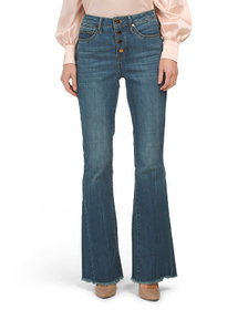 SEVEN7 High Rise Flare Leg Jeans