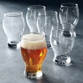 Open Kitchen by Williams Sonoma Barlow Beer Glasse