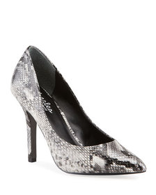 Charles by Charles David Maxx Snake-Embossed Eveni