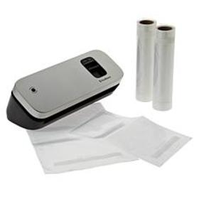 """As Is"" FoodSaver Compact Vacuum Sealing Unit with"