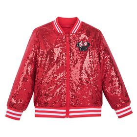 Disney Minnie Mouse Red Sequin Jacket for Girls