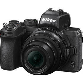 Nikon Z50 Mirrorless Digital Camera with 16-50mm L