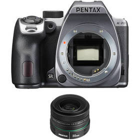 Pentax K-70 DSLR Camera with 35mm f/2.4 Lens Kit (