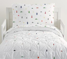 Pottery Barn Preston Icon Toddler Quilt