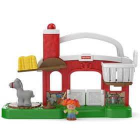 Fisher-Price Little People Hay Stackin' Stable Pla