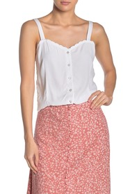 Cotton On Scallop Camisole Tank Top