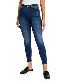 7 For All Mankind Gwenevere High-Waist Skinny Jean
