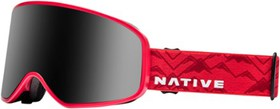 Native Eyewear Tenmile Snow Goggles - Red Watch