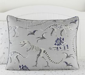 Pottery Barn Glow-in-the-Dark Dino Bones Dream Puf