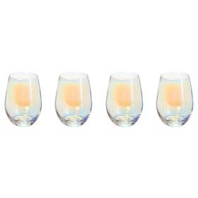 Circleware Radiance Stemless Wine Glasses – Set Of