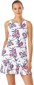 Tommy Bahama Oasis Blossoms High Neck Flounce Spa