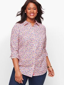 Talbots Perfect Shirt - Tossed Floral