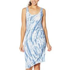 """""""As Is"""" Skinnygirl Connie Side Ruched Midi Tank Dr"""