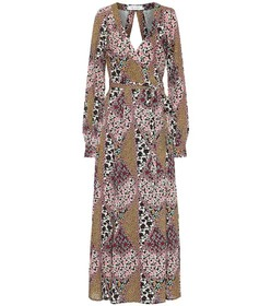 The Upside Kate floral maxi wrap dress