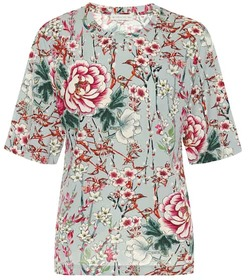 Etro Floral jersey T-shirt