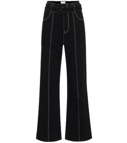 COLOVOS High-rise straight jeans