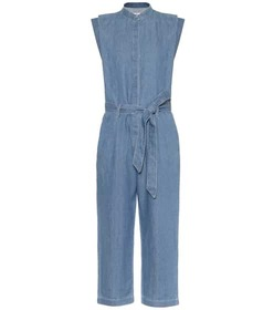 7 For All Mankind Utility cotton and linen jumpsui