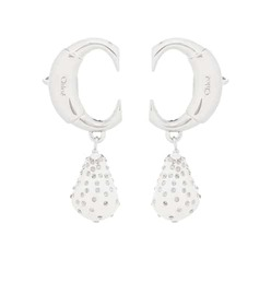 Chloé Darcey embellished clip-on earrings
