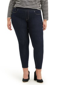 Levi's High Waisted Pull-On Jean Leggings (Plus Si