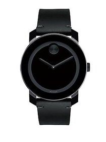 Movado BOLD Stainless Steel Watch BLACK