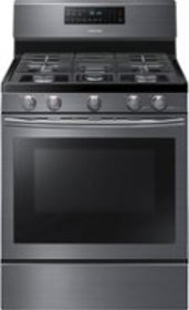 Samsung - 5.8 Cu. Ft. Self-Cleaning Freestanding F