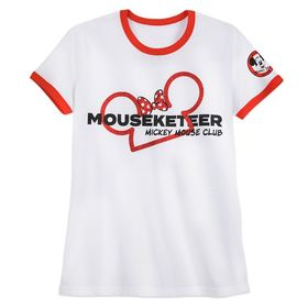 Disney Minnie Mouse Mouseketeer Ringer T-Shirt for