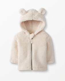 Hanna Andersson Fleece Bear Jacket