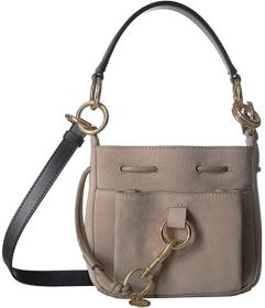 See by Chloe Tony Suede Bucket Bag Small